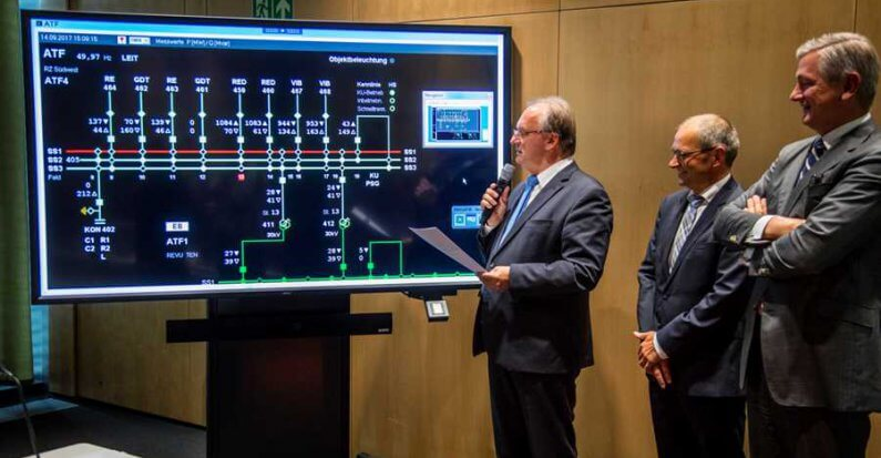 Strom frei für Thüringer Strombrücke