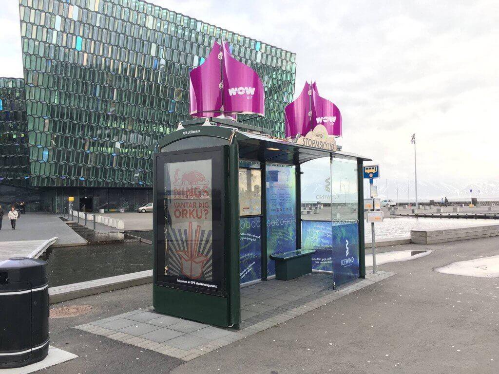 IceWind's Storm Shelter in Reykjavik