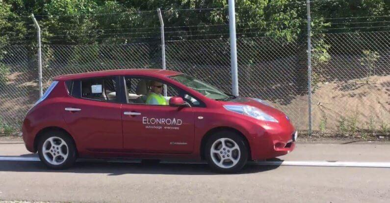 Elonroad testet E-Strecke